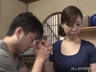 Hot mature Asian housewife..