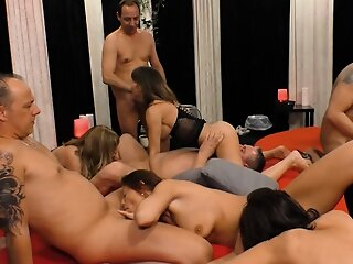 german homemade swinger orgy..
