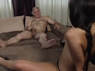 Old man having sex with 18..